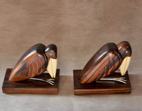 divine style french antiques french art deco bookends birds 5