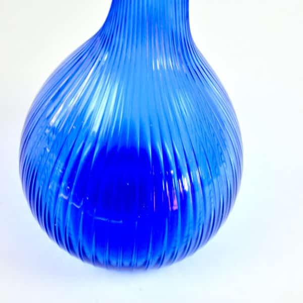 divine style french antiques XL Daum France bottle vase mid century 5