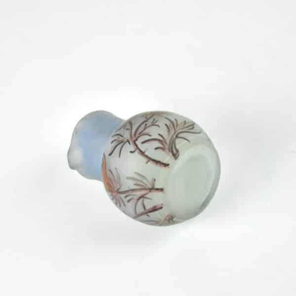 Art Nouveau miniature vase mignonnette 1900 signed 2