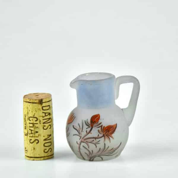 Art Nouveau miniature vase mignonnette 1900 signed