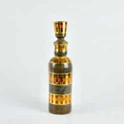 divine style french antiques fratelli franciullacci gold sgraffito decanter bottle vase 2
