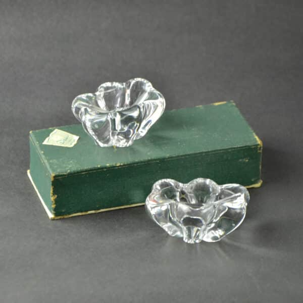 divine style french antiques daum crystal open salts pr 2