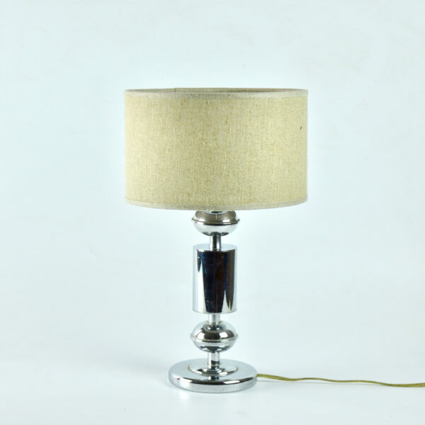divine style french antiques 1960s chrome lamp table lamp 2