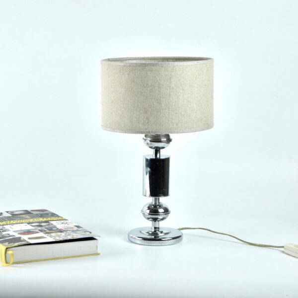divine style french antiques 1960s chrome lamp table lamp