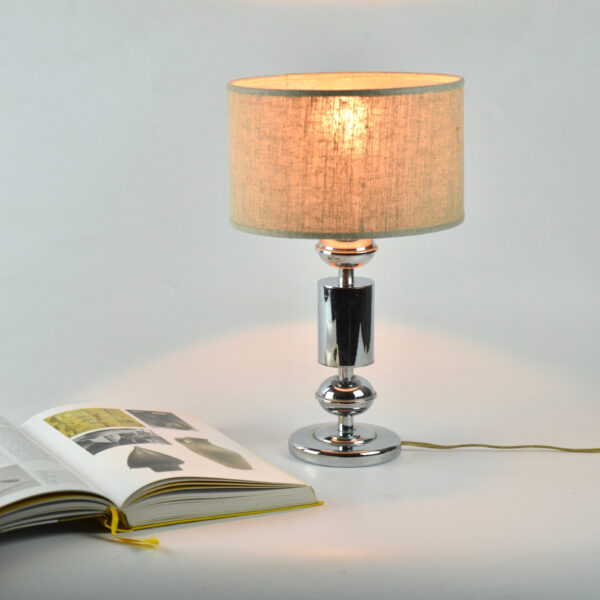 divine style french antiques 1960s chrome table lamp 1