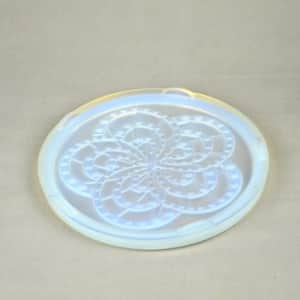 divine style french antiques art deco opalescent trivet landier 1