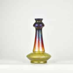 divine style french antiques loetz vase with iridescent glaze 7
