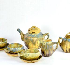 gilbert Metenier coffee set