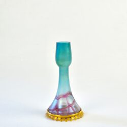 divine style french antiques Pallme konig trailed glass vase 1900 art nouveau 6