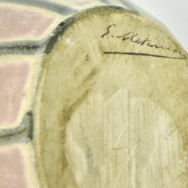 divine style french antiques g metenier art deco pink vase 5