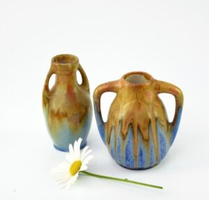 miniature stoneware vases gilbert metenier