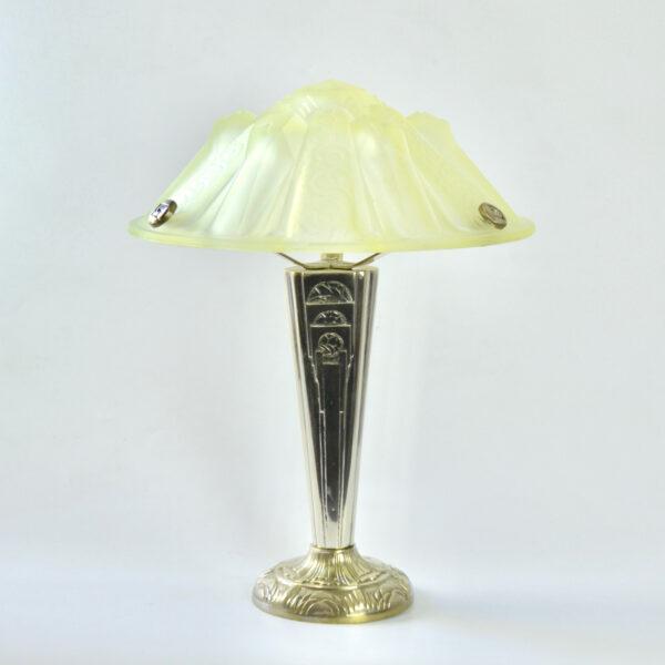 divine style Muller Frères Hettier et Vincent art deco lamp 5