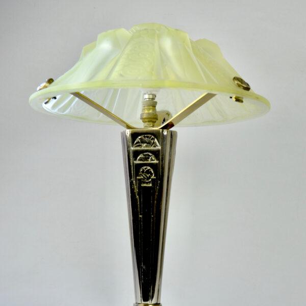 divine style Muller Frères Hettier et Vincent art deco lamp 8