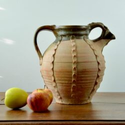 divine style french antique French Gargoulette Pitcher Terracotta Pot