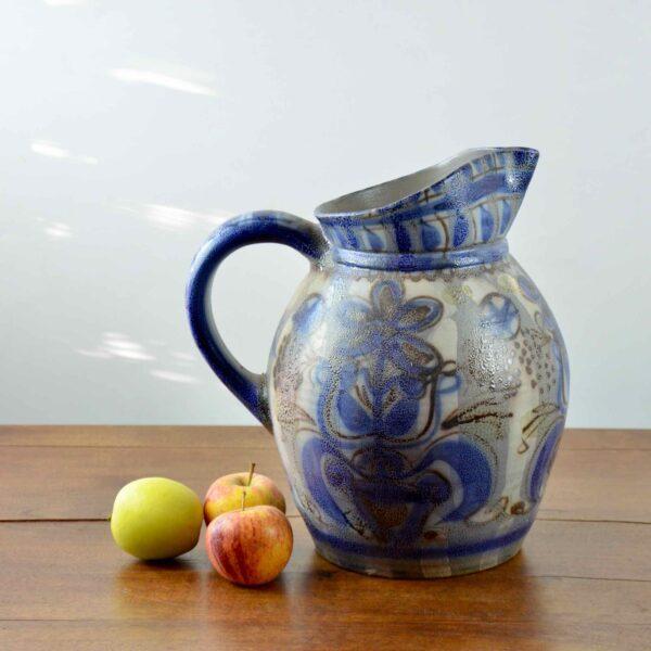 divine style french antiques keraluc quimper pitcher