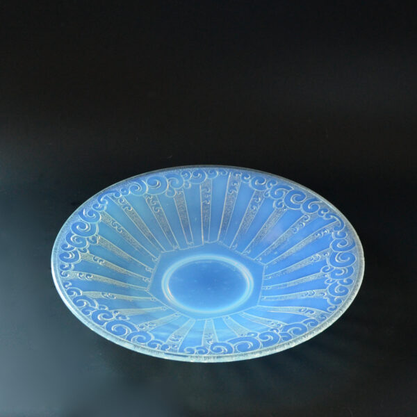 french antiques etling opalescent bowl 367 b