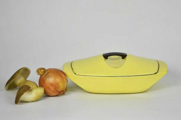 raymond loewy le creuset covered gratin dish 5