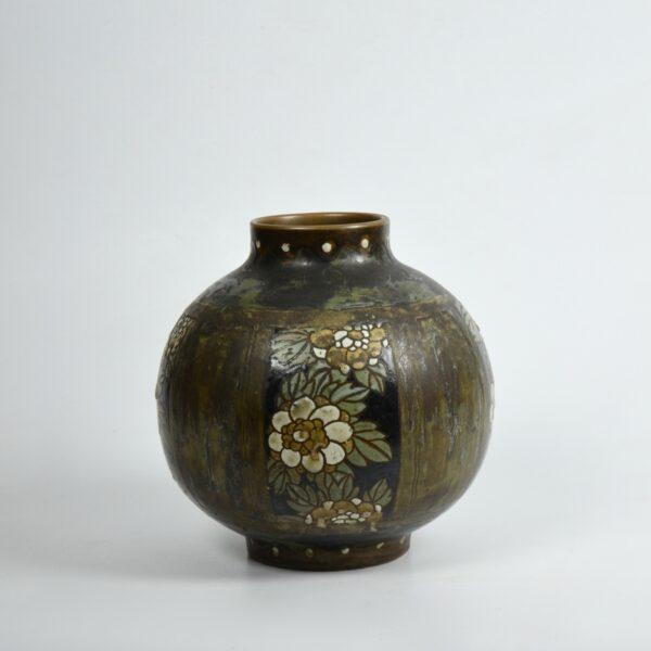 Charles Catteau Keramis stoneware vase 1