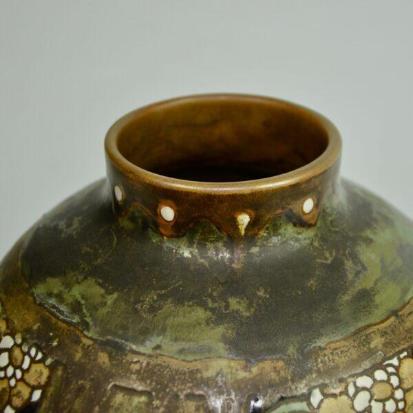 Charles Catteau Keramis stoneware vase 2