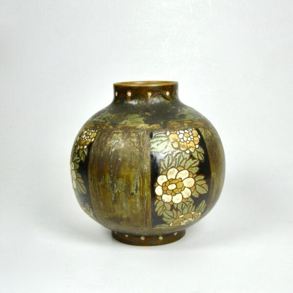 Charles Catteau Keramis stoneware vase 6