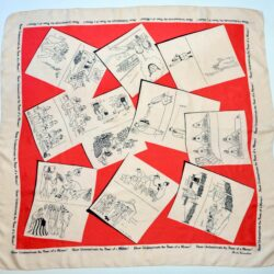 divine style french antiques brooke cadwallader 1940s WWII Women silk scarf