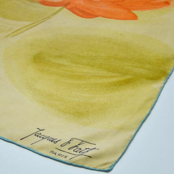 divine style french antiques Jacques Fath silk scarf 1950s citrus 2
