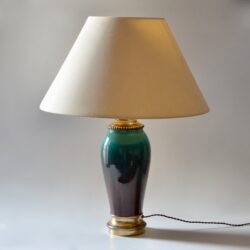 divine style french antiques large 19thc flamme table lamp