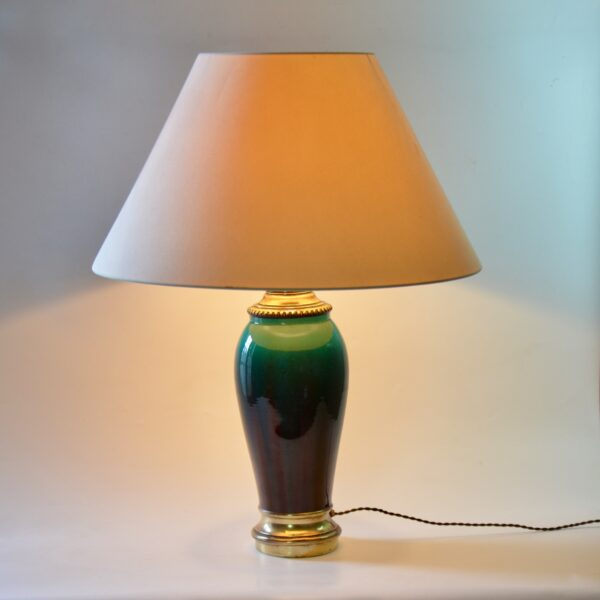 divine style french antiques large 19thc flamme table lamp 2