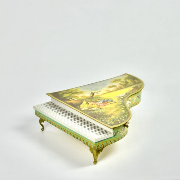 divine style french antiques grand Piano musical box 3
