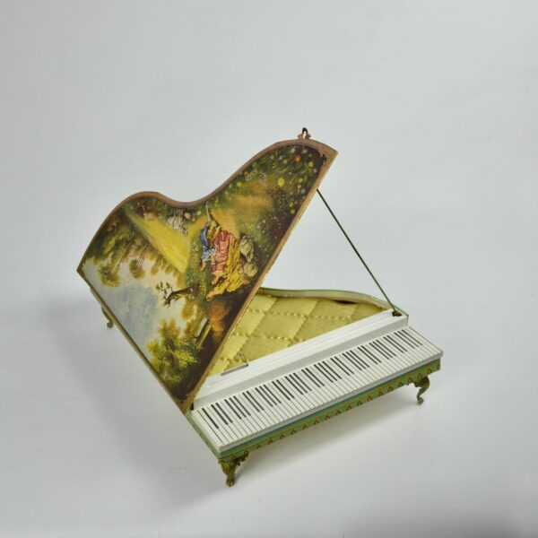 divine style french antiques grand Piano musical box 5
