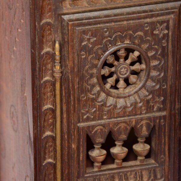 divine style french antiques miniature breton wardrobe dollhouse armoire 4