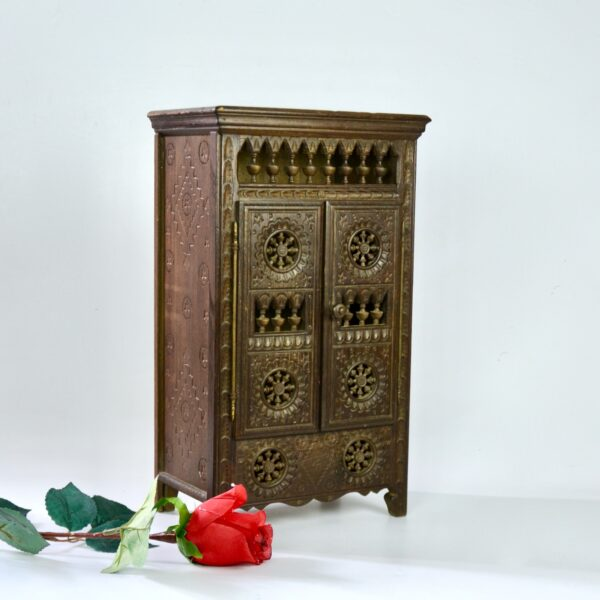 divine style french antiques miniature breton wardrobe dollhouse armoire 5