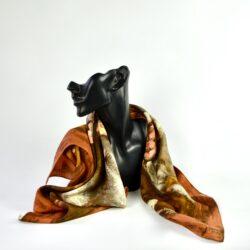 divine style french antiques vintage lanvin castillo silk scarf 1950s