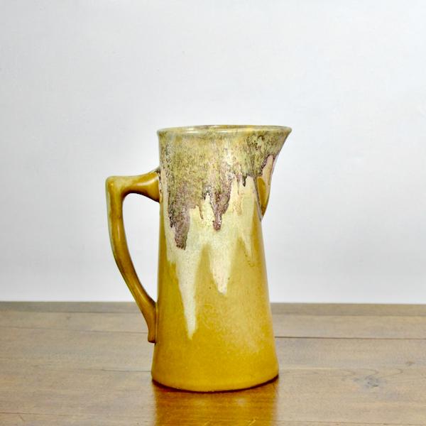 jean Marie Maure French Art Deco stoneware jug gres de Puisaye 1