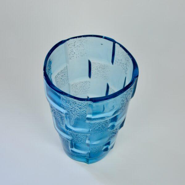 divine style art deco glass vase D'Avesn 3