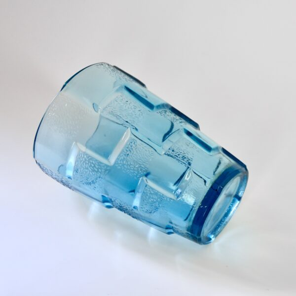 divine style french art deco textured glass vase D'Avesn 2