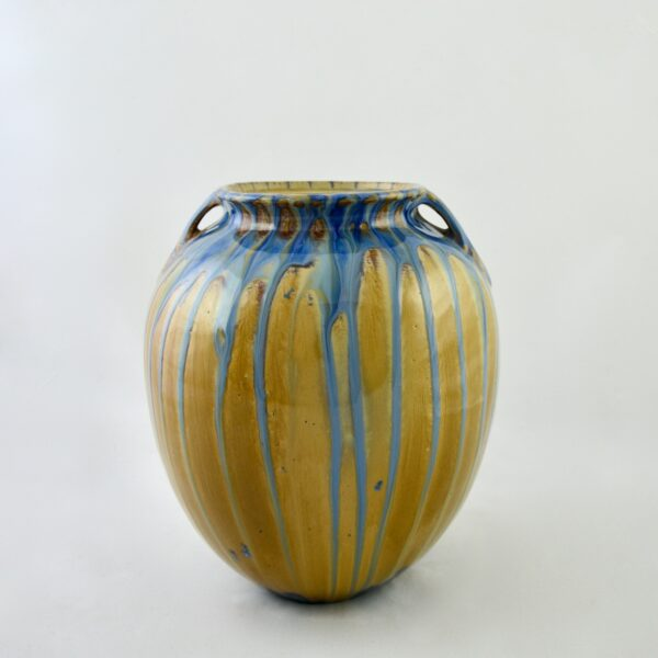 divine style french antiques dalpayrat large glazed stoneware vase c1900 (1)