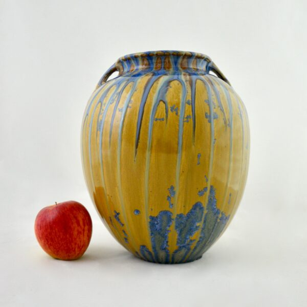 divine style french antiques dalpayrat large glazed stoneware vase c1900 5