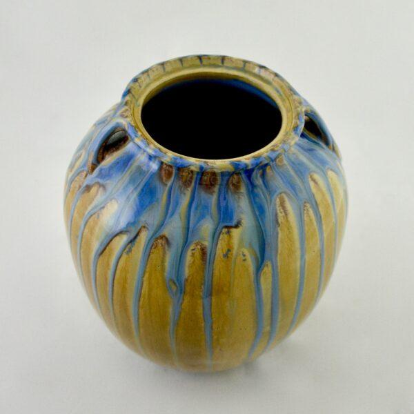 divine style french antiques dalpayrat large glazed stoneware vase c1900 7