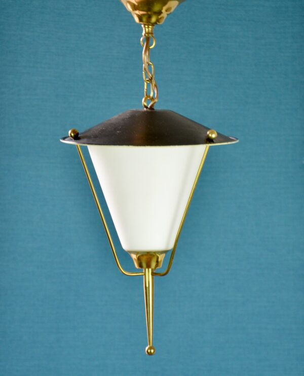 divine style french antiques biny arlus modernist lantern 1960s