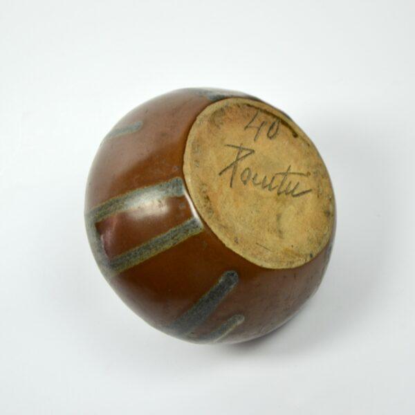divine style french antiques leon pointu drip glaze stoneware vase 3