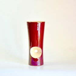 Verceram modernist vase 1960s divine style french antiques