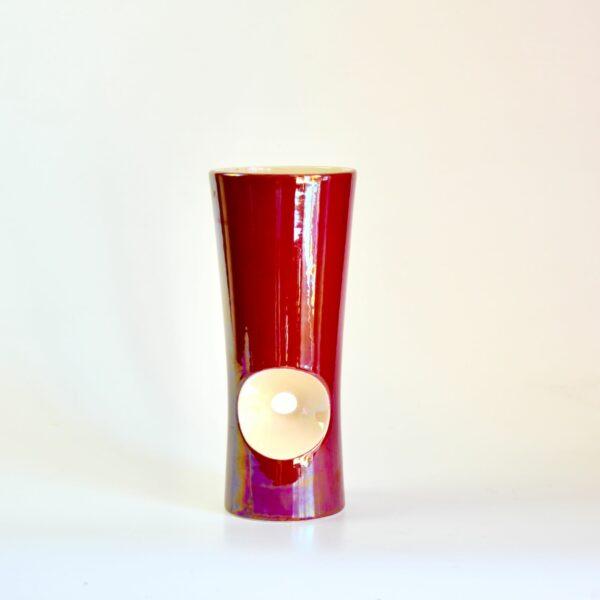 Verceram modernist vase 1960s divine style french antiques