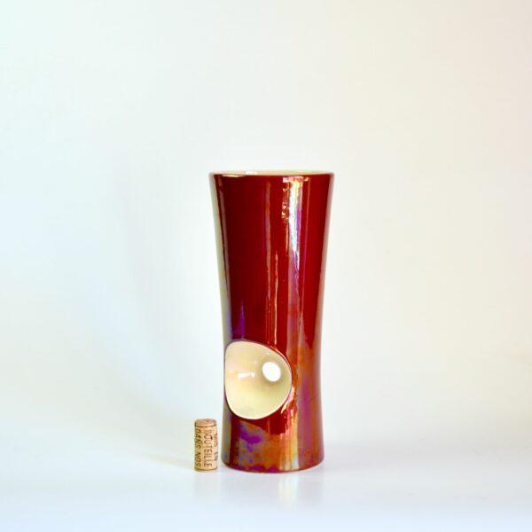 Verceram modernist vase 1960s divine style french antiques 3