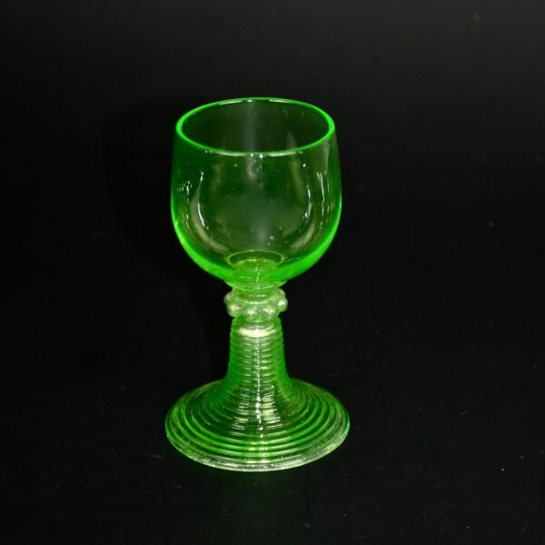 antique uranium glass rummers set of 6 antique 2
