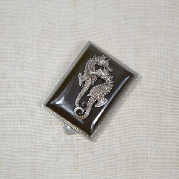 jean painlevé seahorse brooch divine style french antiques 2