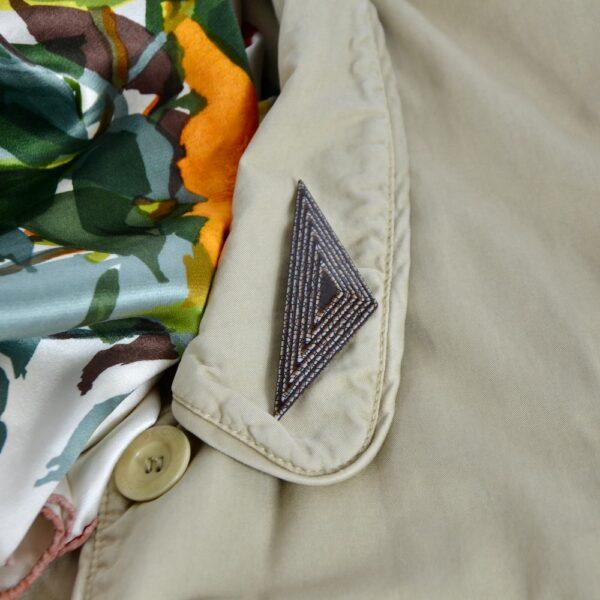 vintage lea stein geometric brooch divine style 3
