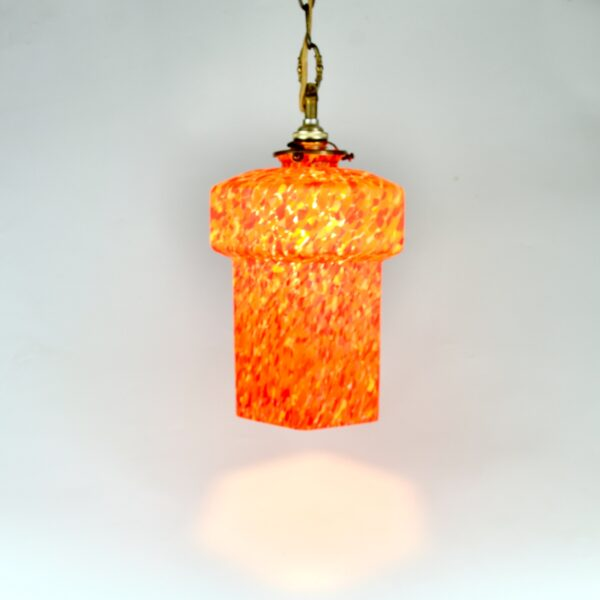 spatter glass ceiling light fixture 1920 2 divine style french antiques