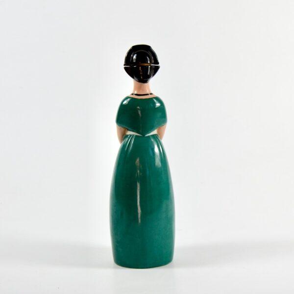 Robj Paris liquor bottle french art deco ceramics 7