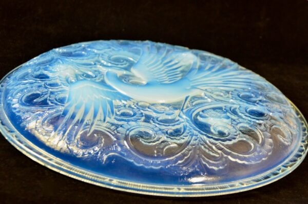 pierre d'Avesn Art Deco opalescent bird of paradise divine style french antiques 2